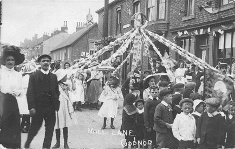 Coronation of King George V Mill lane Codnor