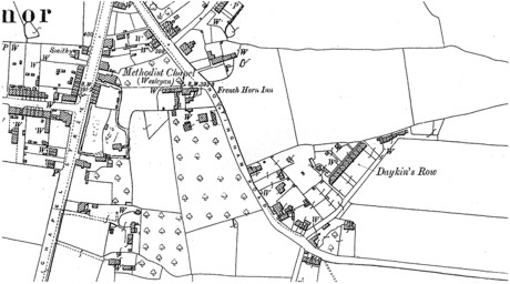 Daykins Row Map