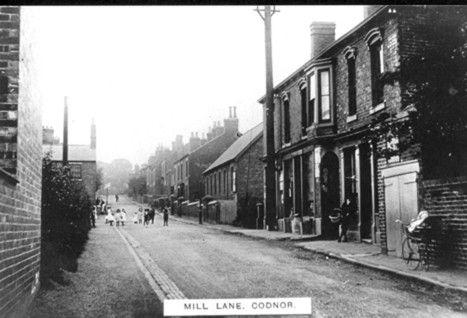 Mill Lane Codnor 1914